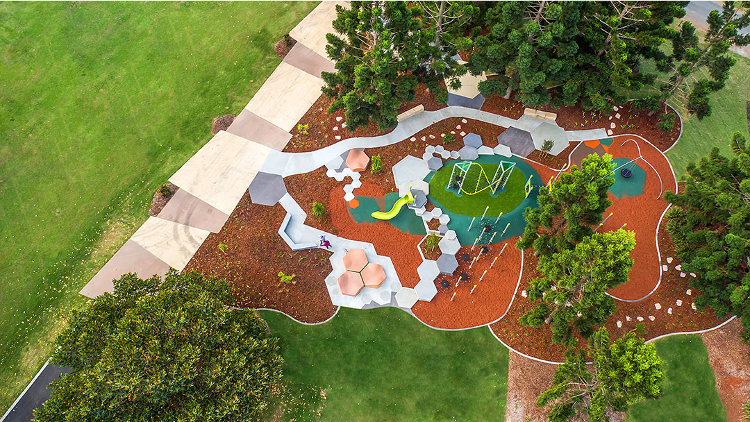 Pine Rivers Park aerial view