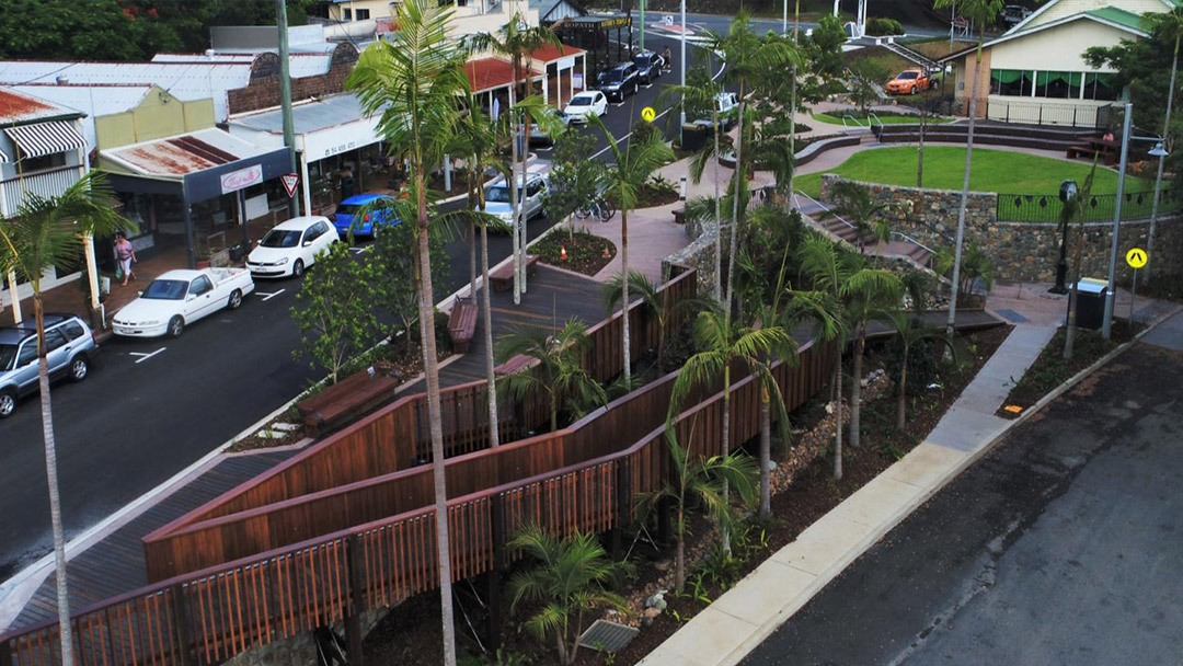 Palmwoods Town Square Project