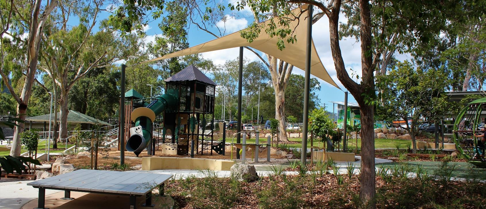 Walton Bridge Park playground