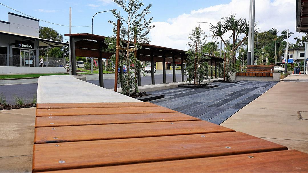 Timari Streetscape seating