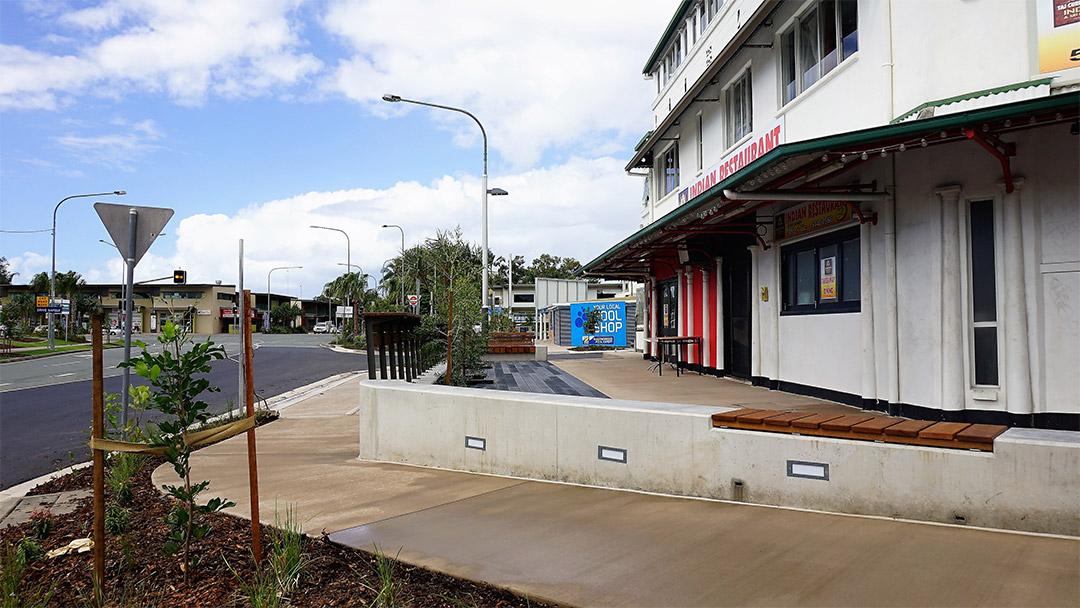 Timari Streetscape walkway