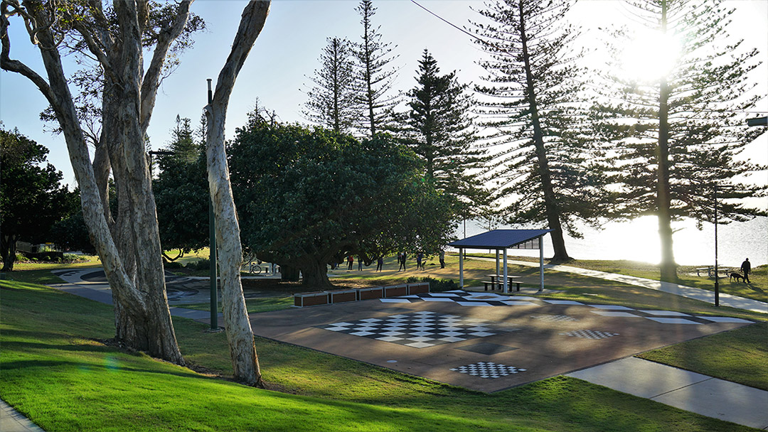 Scarborough Beach Park walkway