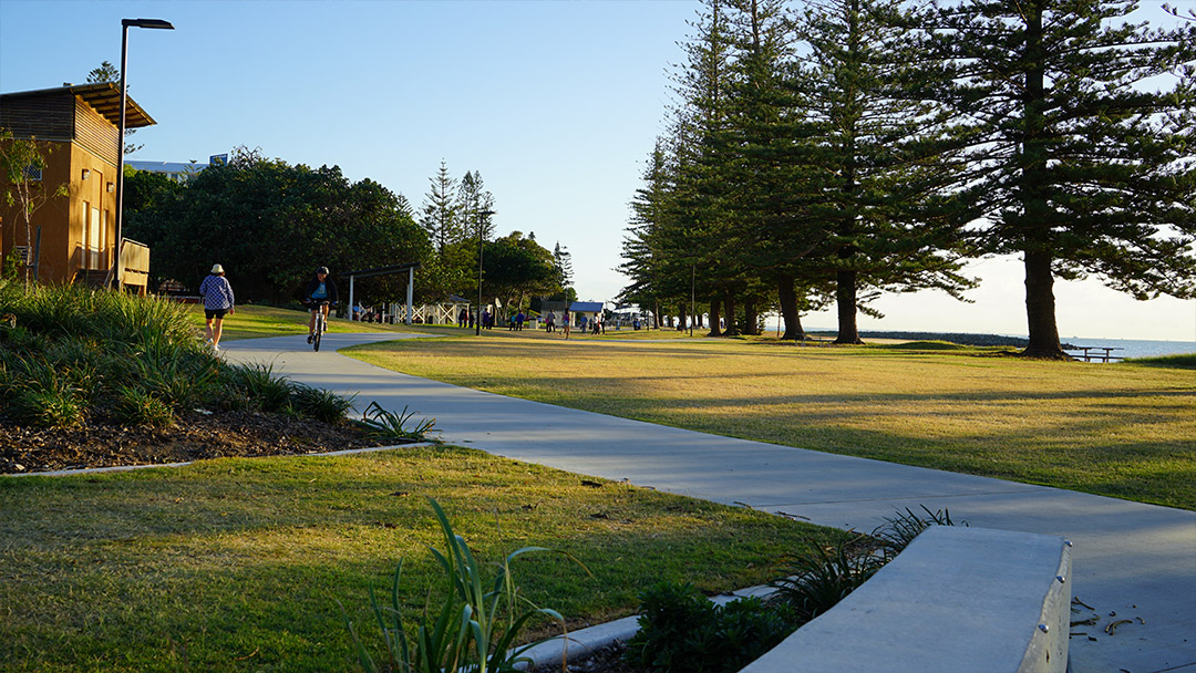 Scarborough Beach Park walk way
