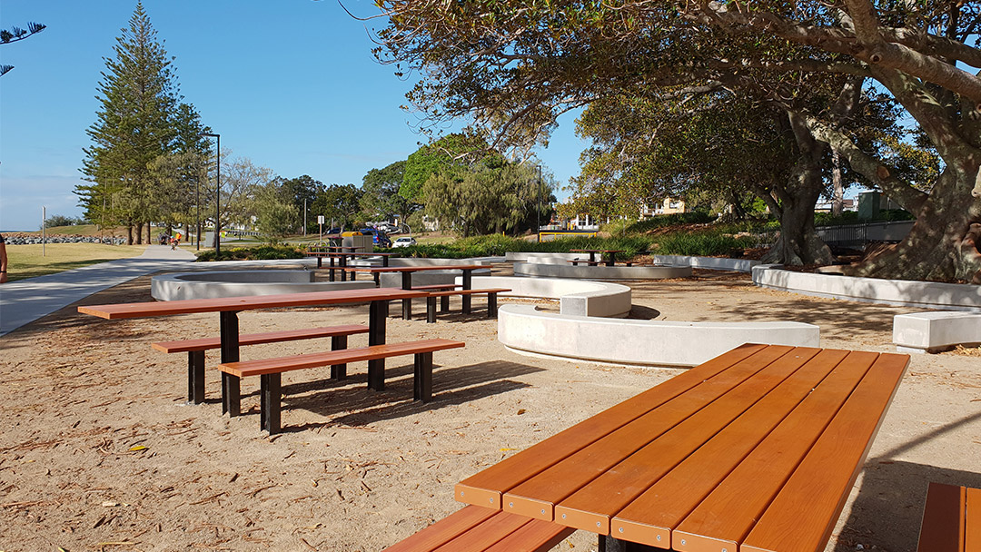 Scarborough Park Beach upgrade