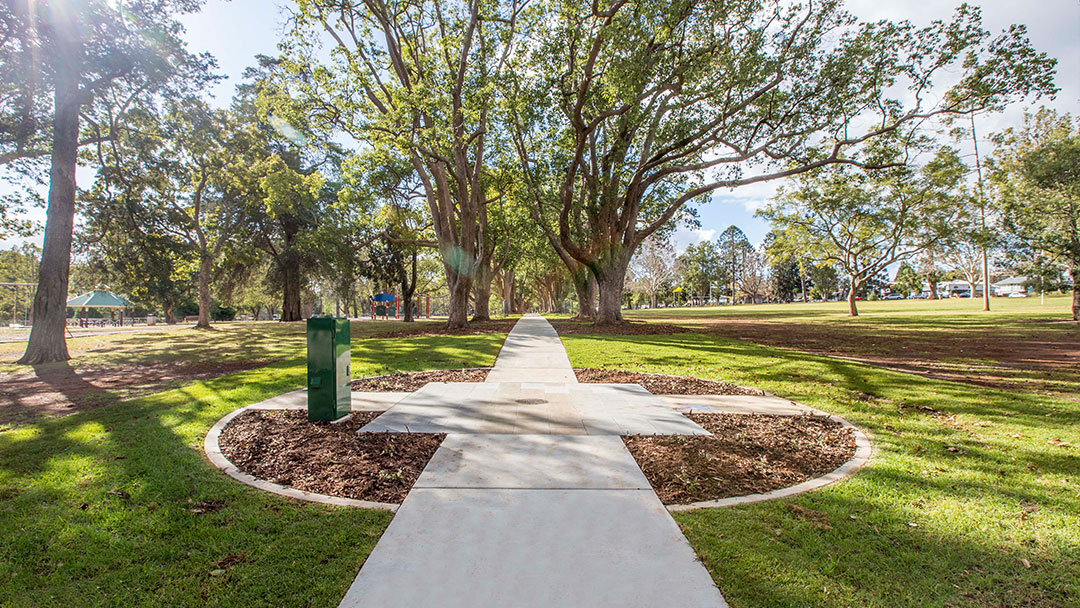 TLCC Environment Public Spaces Parks Project Queens Park Toowoomba
