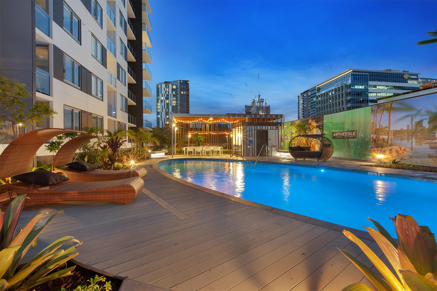 Skyneedle Apartments Project by TLCC