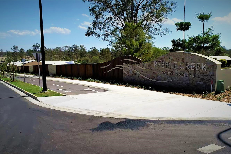 Pebble Creek Parklands Greenbank Project by TLCC